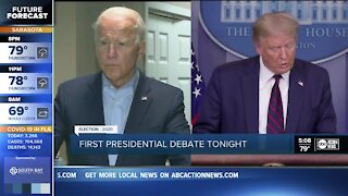 What to know ahead of first presidential debate