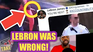 Video PROOF that Lebron James was WRONG on Columbus, OH shooting!!!