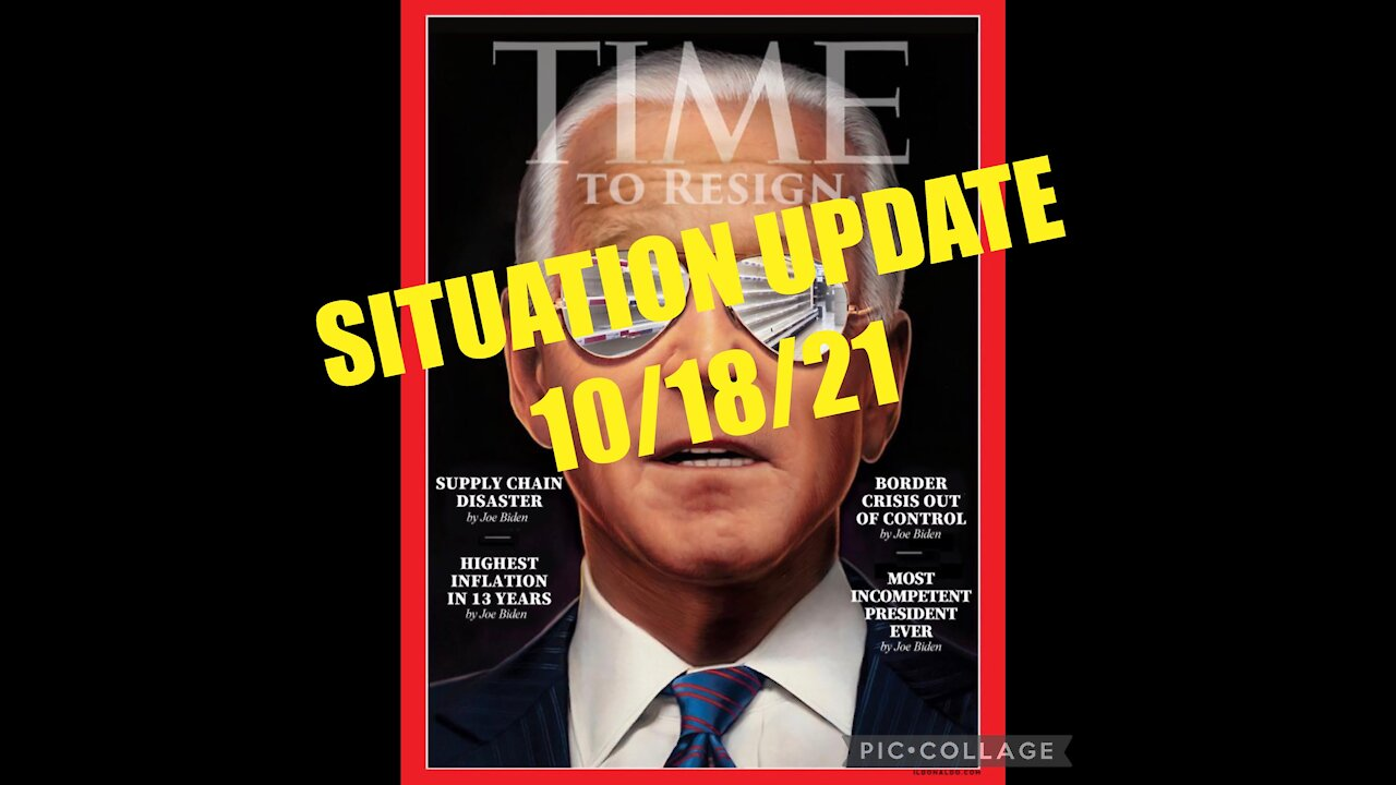 Situation Update: Biden Regime Admits Causing Supply Chain Crisis! Says Only When Everyone Is Jabbed Will It Return To Normal! Military & Veterans Preparing Worldwide For Final Event! - We The People News
