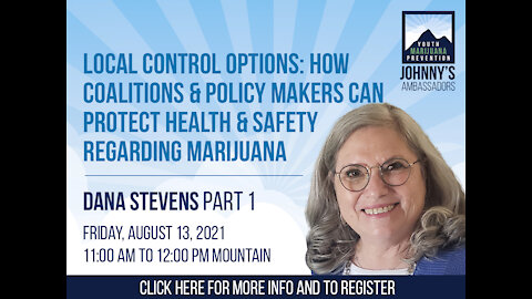 How Coalitions & Policy Makers Can Protect Health & Safety Regarding Marijuana