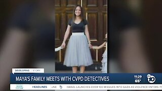 Missing woman's family meets with police in push for more answers