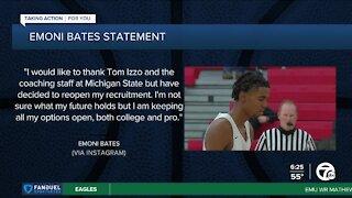 Emoni Bates reopens college recruitment
