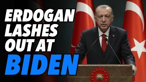 Erdogan lashes out at Biden for arms sale to Israel
