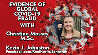 Master of Science Christine Massey Talks About COVID-19 with Kevin J Johnston