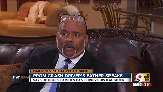 Father of fatal prom crash driver speaks out