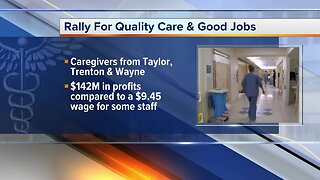 Beaumont Health workers plan rally for better pay on Wednesday
