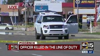 Phoenix officer killed in line of duty