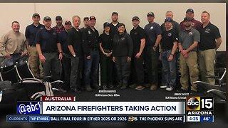 Arizona firefighters to help battle Australia brush fires