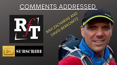 Ravi Zacharias & David Berkowitz