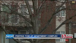 Neighbors concerned about a peeping Tom