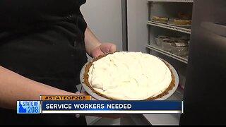 Treasure Valley restaurants in need of service workers