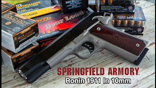 Introducing The New Ronin 1911 In 10mm By Springfield Armory