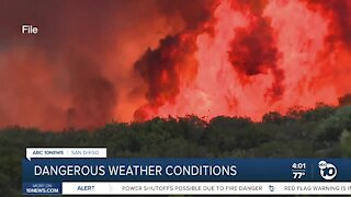 Fire crews prepared for dangerous weather