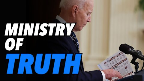 Ministry of Truth. Biden's first Press Conference (Live)