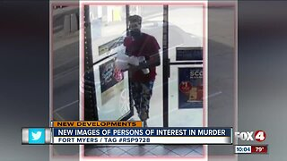 New images released in Homicide investigation in Fort Myers