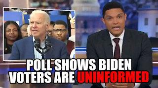 Poll Show Biden Voters are UNINFORMED!