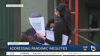 Community leader talks about pandemic inequities