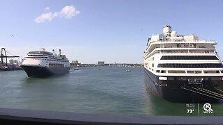 Cruises dock with sick passengers