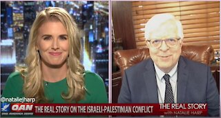 The Real Story - OAN Exposing Pro- Palestinian Propaganda with Dennis Prager