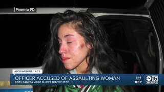 Phoenix officer accused of assaulting woman during arrest