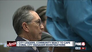 Taxpayers want city manager out of office during investigations