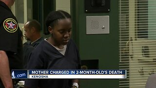 Mother charged in 2-month-old's death