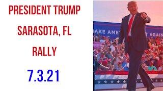 President Trump Rally Sarasota Florida July 3, 2021