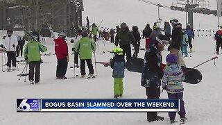 Bogus Basin experiences busy weekend