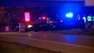 Crash closes all lanes on I-90 eastbound at Eddy Road