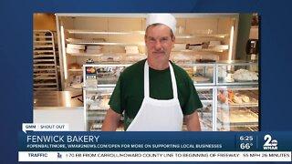 "Fenwick Bakery says ""We're Open Baltimore!"""