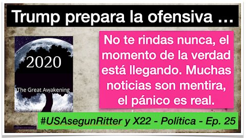 #USAsegunRitter y X22 - Política - Ep. 25