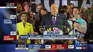 Governor Larry Hogan wins re-election