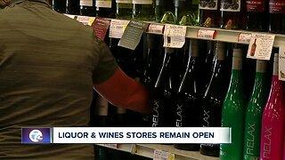Flocking to liquor stores amid COVID-19