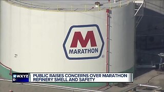 Public raises concerns over Marathon refinery smell and safety