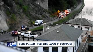 Body pulled from Erie Canal in Lockport