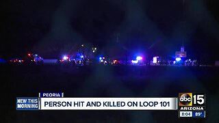 Person hit and killed on L-101