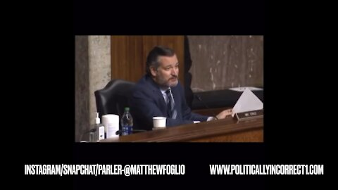 Ted Cruz destroys Jack Dorsey!