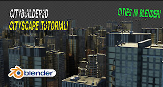 CityBuilding in Blender 3d: Tutorial using simple particle systems with city assets
