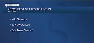 Nevada ranks low on best places to live 2021 study