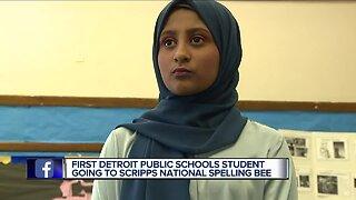 First ever Detroit public schools student in Scripps spelling bee