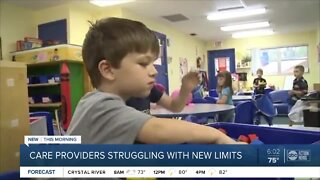 Florida childcare providers say they're struggling to remain open amid new restrictions