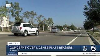 Concerns over license plate readers