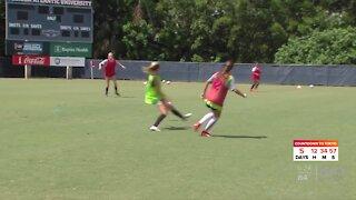 FAU women's soccer host high-level high school talent