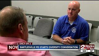 Bartlesville Police Department starts diversity conversation
