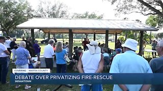 Residents voice concerns about proposal to privatize Indiantown fire-rescue, EMS services