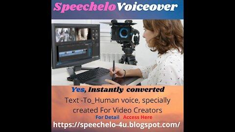 Speechelo Voiceover