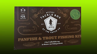 Walmart Mystery Tackle Box! Brand new unboxing