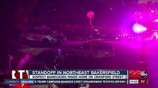 Standoff in northeast Bakersfield
