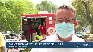 Salvation Army helps feed seniors