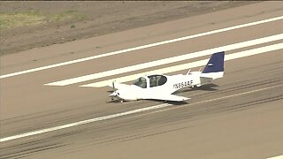 Plane makes emergency landing at Goodyear Airport